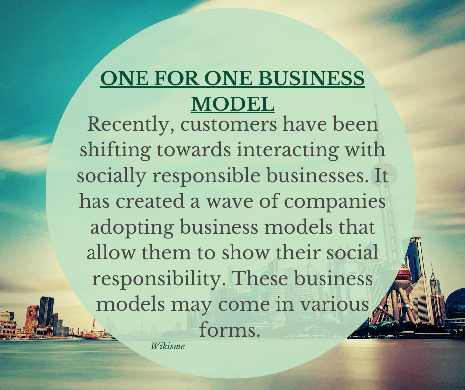 One for One Business Model